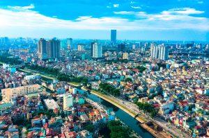 ベトナム ホーチミンの景色